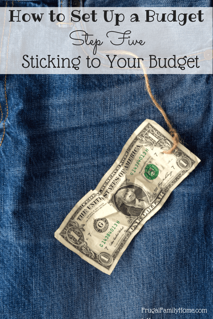 When you are budgeting money getting your budget set up is great but then comes the harder part sticking to it. I've got some budgeting tips to help you stick to your budget and reach your financial goals. You can find more budgeting ideas in the other parts of this budgeting series.