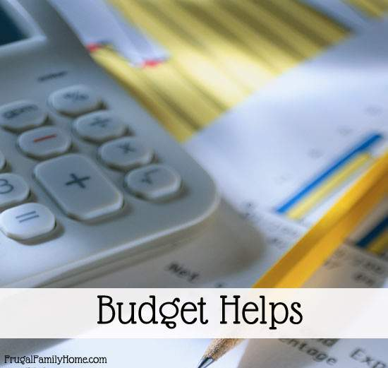 Help for your Budget