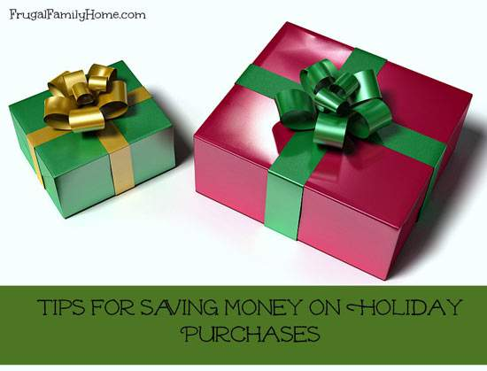 Tips for Saving Money on Holiday Purchases