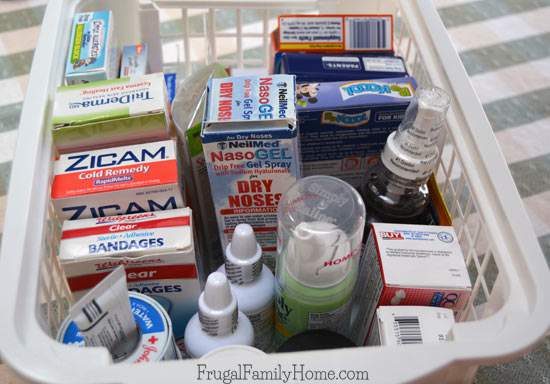 4 Weeks to a More Organized Home, Medication Cupboard Clean Out