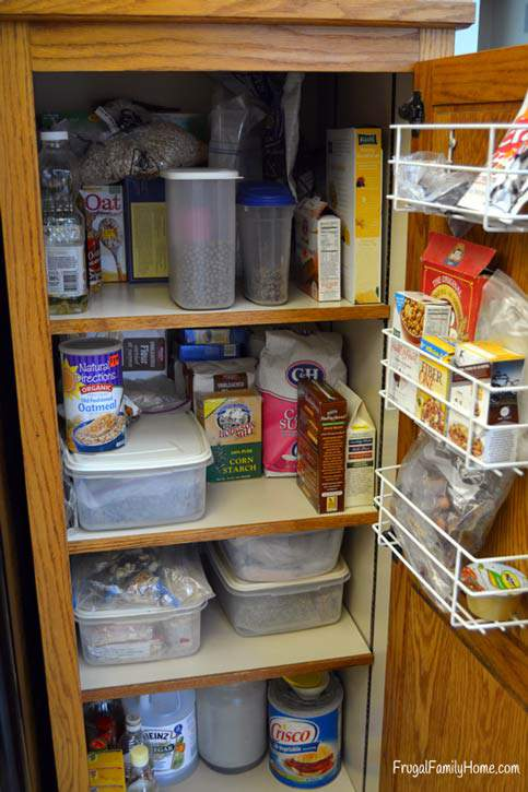 4 Weeks to a More Organized Home, Organize the Pantry