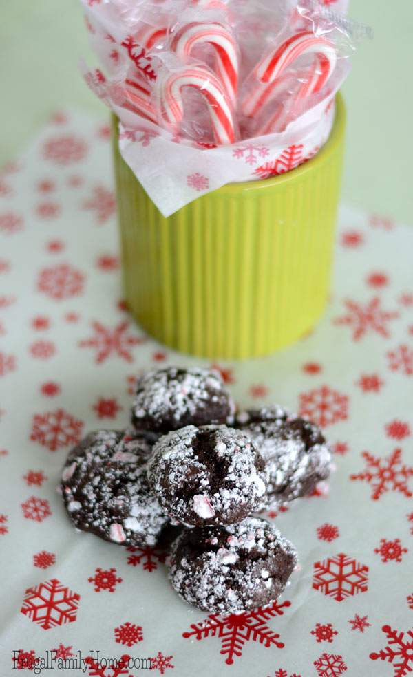 Easy to make mint cookie great for gift giving.