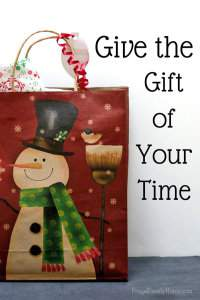 Give the Gift of Your Time {Free Printable}