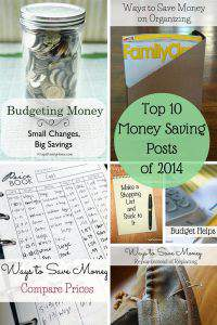The 10 Most Popular Money Saving Posts of 2014