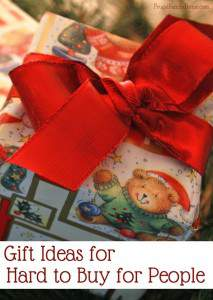 Gift Ideas for Hard to Buy for People