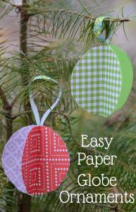Keep the Kids Busy, Make these Paper Ball Ornaments