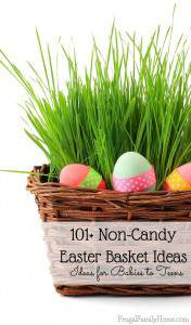 101+ NonCandy Easter Basket ideas for Babies to Teen