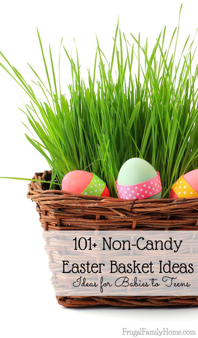 101 Noncandy Easter Basket Ideas For Babies To Teen