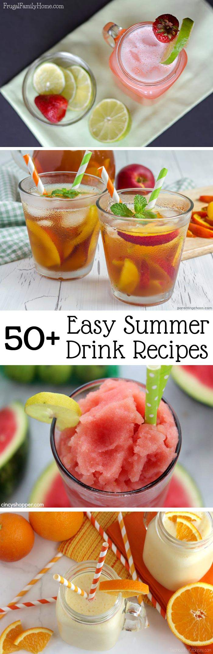 Easy Summer Drinks To Keep You Cool