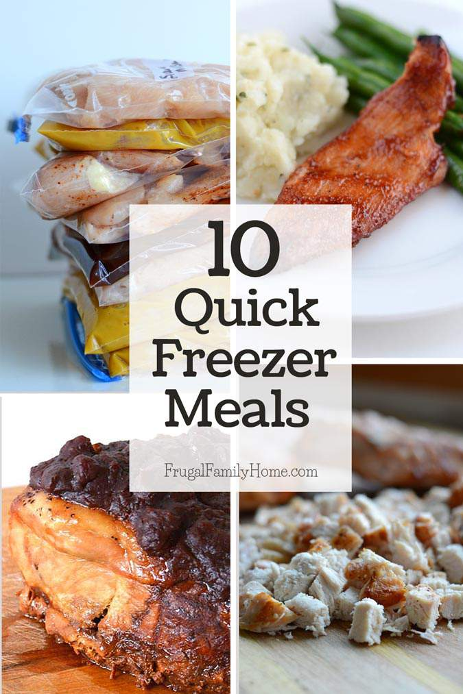 These quick freezer meals are so easy to make and delicious too. I'm sure your family will love them as much as my family does.