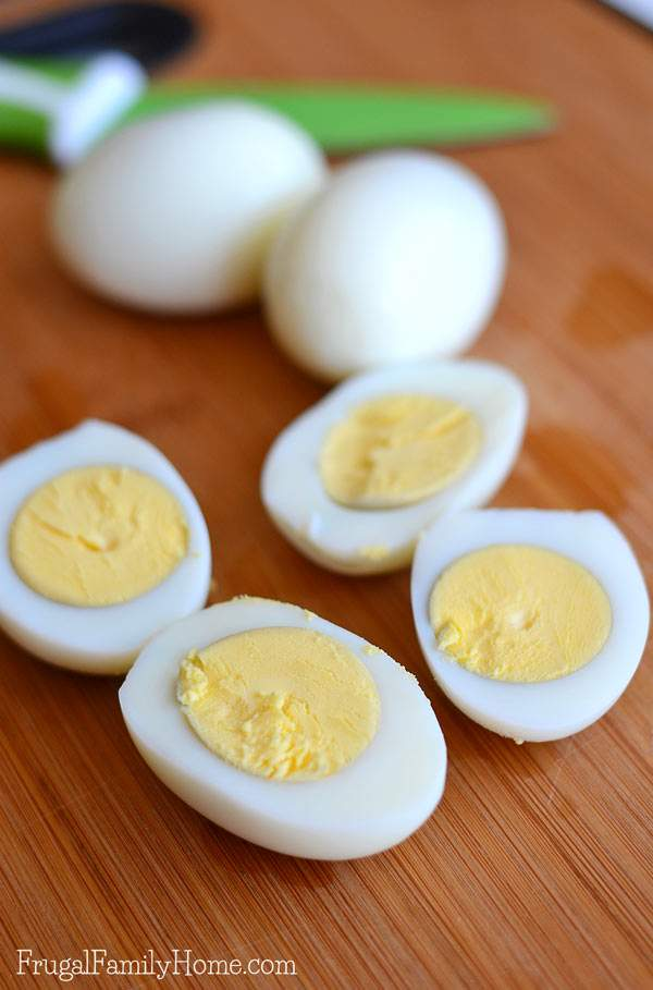 how to make deviled eggs easy to peel