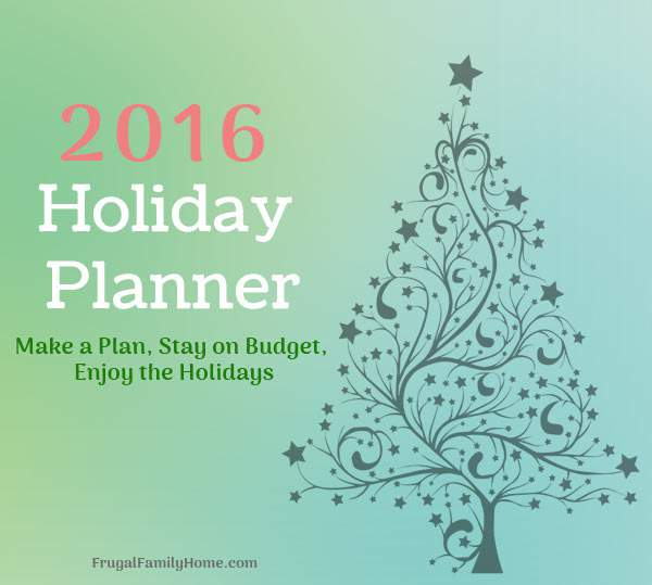 Have a more relaxed holiday season when you have a plan with this printable holiday planner.