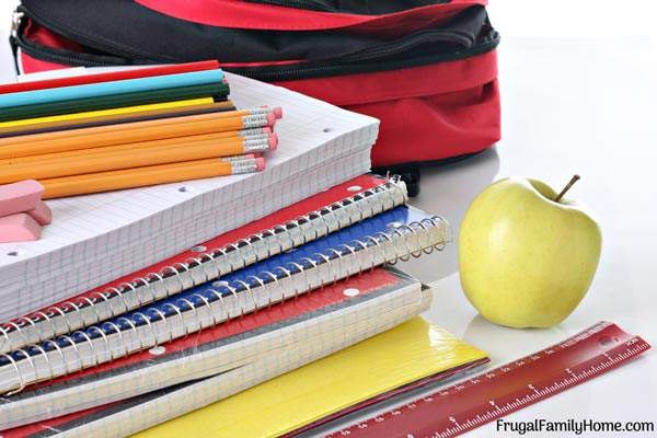 Stretch your Back to School Supplies dollars with these 7 money saving ideas. Get organized now and save with all the back to school sales.